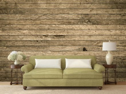 Vintage Aged Wooden wall mural wallpaper Premium